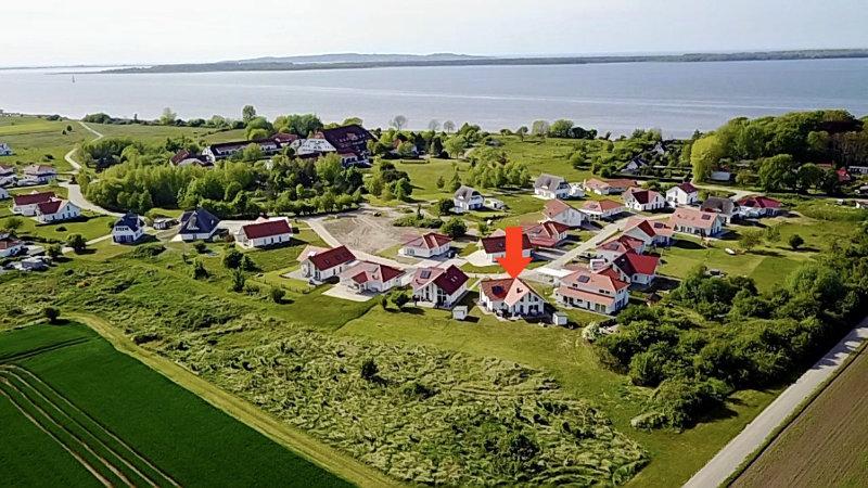 Aerial photo location Villa Heimathafen